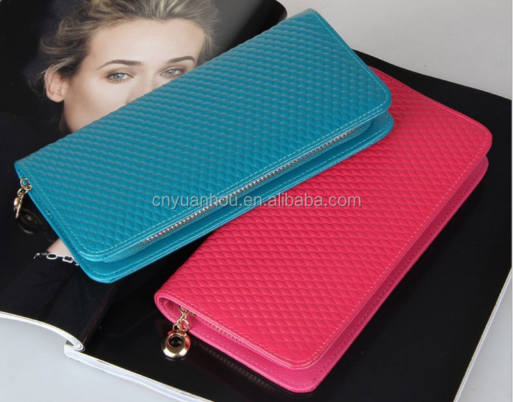 wholesale Genuine Leather And Women Gender Zipper Wallet