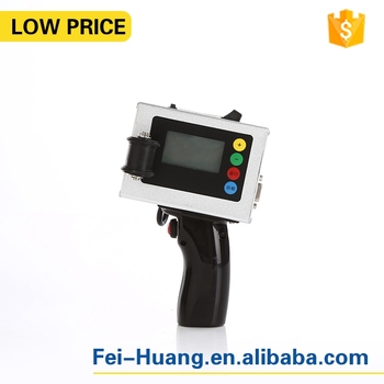 Chinese automatic small touch screen portable cans mobile handheld number inkjet batch code printer date coding machine