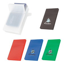 Promotion OEM logo printing mini pocket size portable unfold fan shaped eco-friendly plastic colorful calendar holder