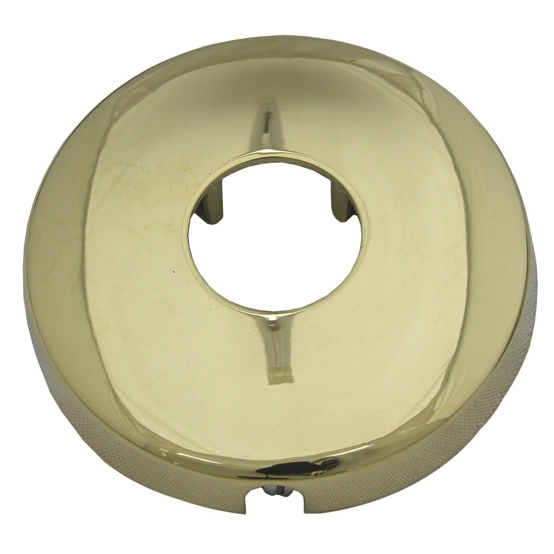 Simpatico 31201P Shower Arm Flange with Set Screw Polished Brass PVD