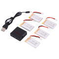 For Syma X5C X5SC X5SW X5C 1 V931 H5C CX 30 CX 30W 5PCS 800mAh battery