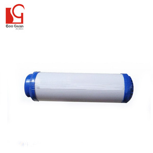 Nutshell water activated carbon filter post carbon filter core water pre filter