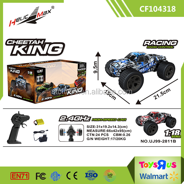 Hot Sale Off-Road 4X4 Remote Control 1 18 RC Trucks with Charger