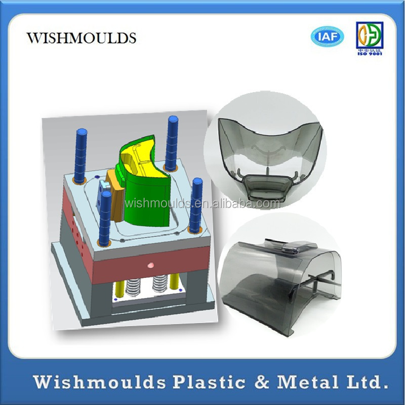 2015 China Oem Clear Plastic Injection Molding Pc/acrylic ...