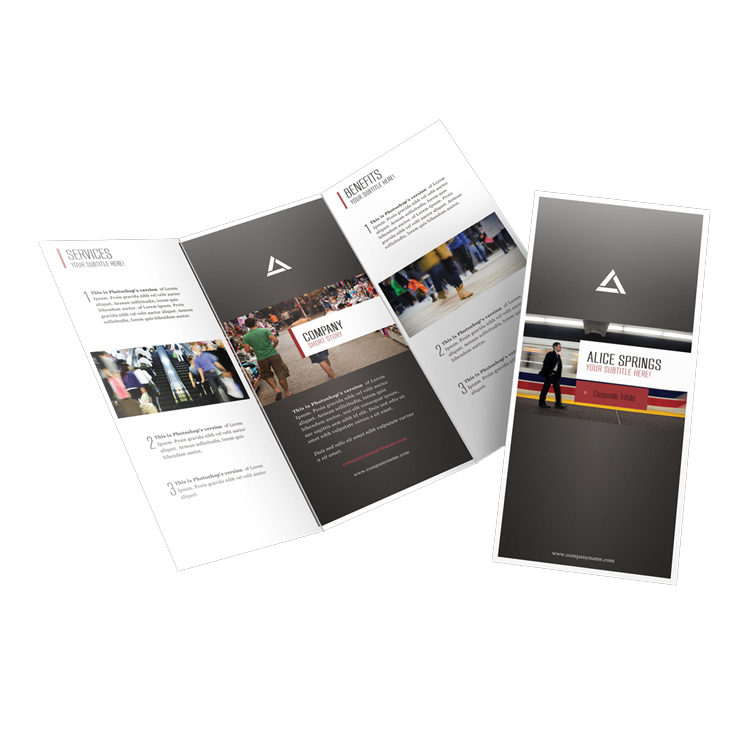 Hot verkoop delicate multi kleur brochure accordeon flyer afdrukservice