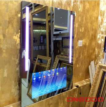Guangzhou good quality 2k customized design mirror tv smart