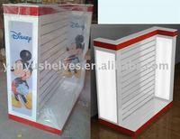 Children clothing store shelf