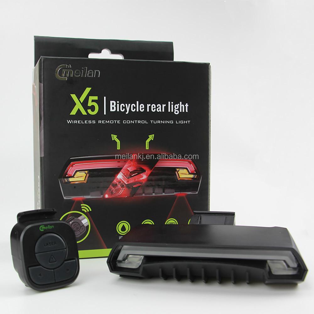 smart r cklicht meilan x5 fahrrad zubeh r led laser. Black Bedroom Furniture Sets. Home Design Ideas