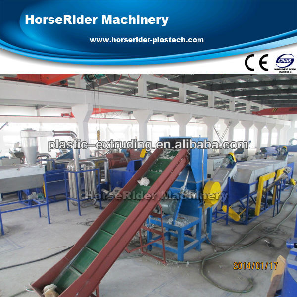 High output used hdpe washing line/used plastic washing recycling line