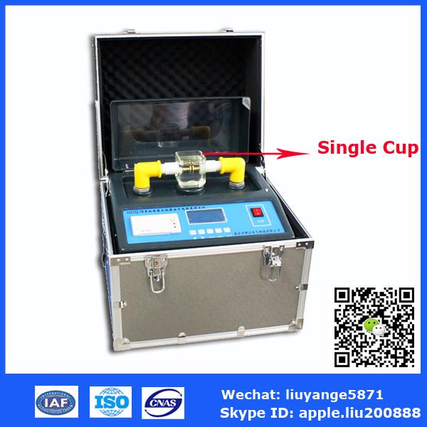 Hzjq 1 Auto Insulation Oil Tester Oil Bdv Test Equipment