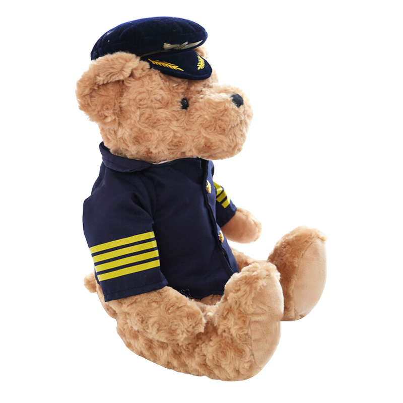plush toy ultraman pilot bear teddy pilot