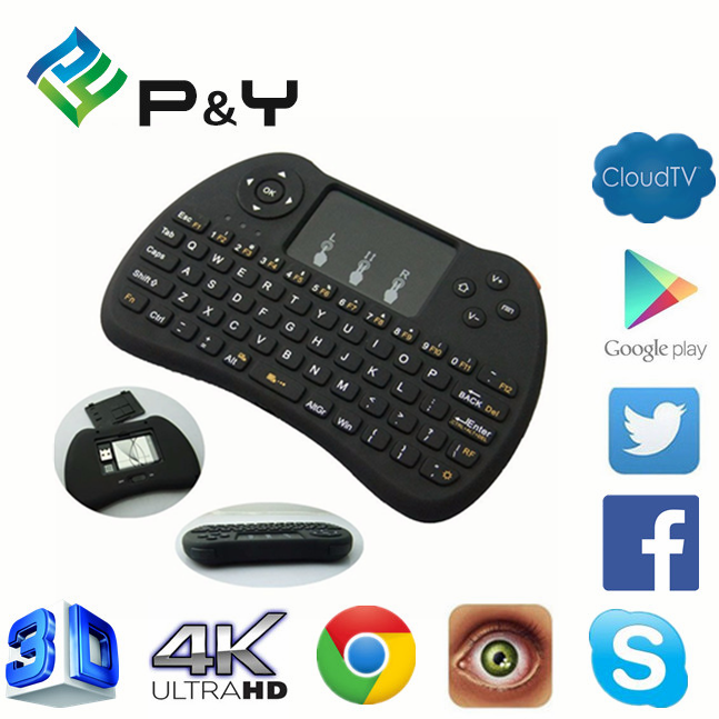 2017 New design H9 air mouse for Android TV bluetooth mx3 2.4g 3d medical use Wireless remote controll