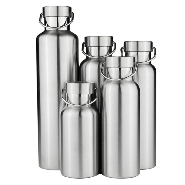 300-1000ml Double Wall Vacuum Stainless Steel Travel Water Thermos Coffee Bottle