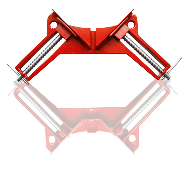 90-Degree Right Angle Clamp Quick-grip Corner Clamp DIY Woodworking Frame Picture Glass Holder