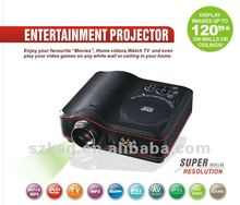 dvd moives video projectors from china with low cost and high resoluvtion to watch movies
