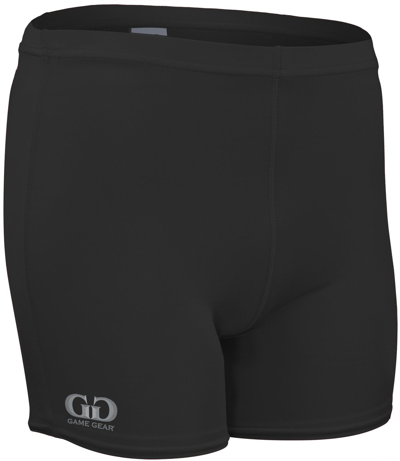 "Game Gear NL-203-CB Women's 4"" Solid Athletic Form Fit Volleyball Compression Sport Short"