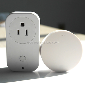 American Standard plug sockets / power outlet socket wireless control /self-powered remote control socket switch in Qingdao