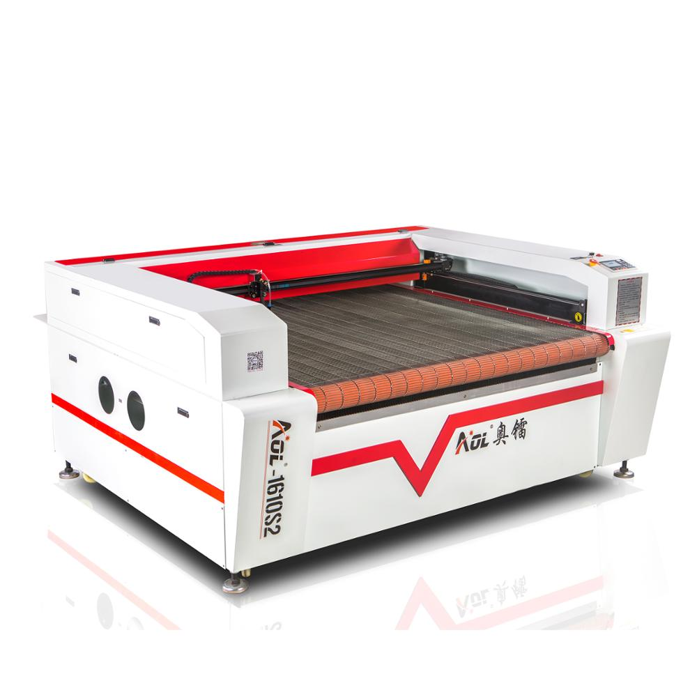 1610 Lasersnijden Stof Bont Machine voor verkoop