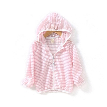 Lummy fashion high quality Cool and comfortable children uv sun protection clothing coat