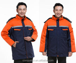 winter 100% cotton, cotton poly blended high quality worker uniform, labor uniform
