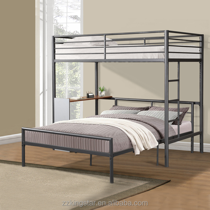 Sale Cheap Used Metal Double Twin Full Bunk Bed With Desk - Buy Bunk Bed  With Desk,Bunk Bed,Bunk Bed Metal Product on Alibaba.com
