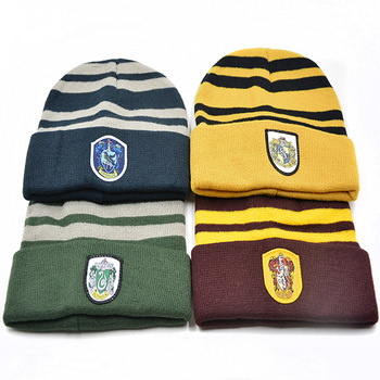 5e8d0cd99 Spwe-1081 Harry Potter Badge Knitted Winter Hat Boy Beanie - Buy Winter  Hat,Knit Hat,Beanie Caps Product on Alibaba.com