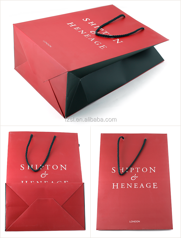 LPB219 luxury color printing paper shopping bag