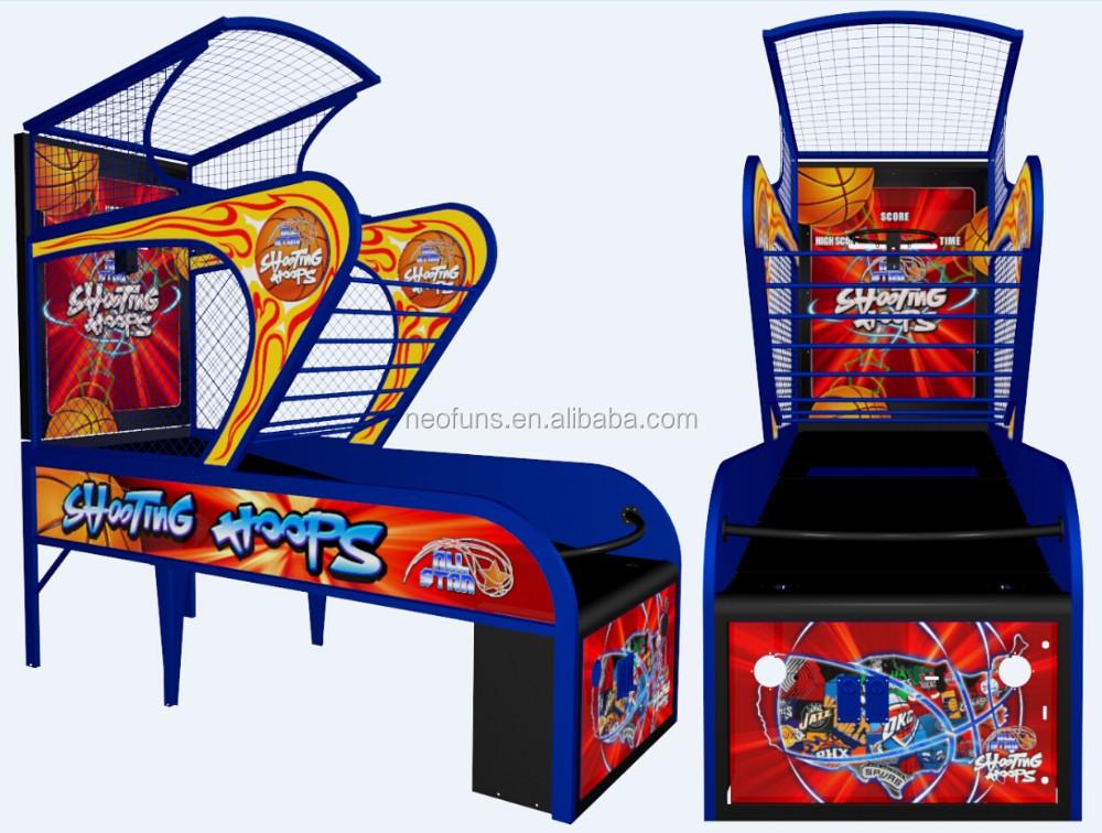 Neofuns Indoor Arcade Hoops Cabinet Basketball Game/street ...