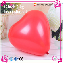 2.0g heart shaped balloon weights for any wedding decoration