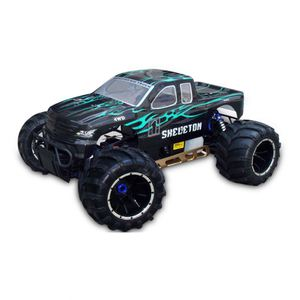 most popular 1/5th scale 4WD 2.4G gas powered remote control truck car model