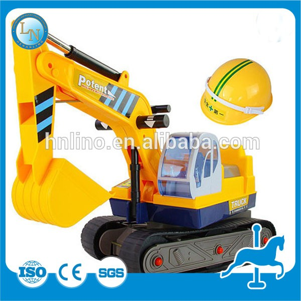 PUZ-Exercise Equipment!Foreign Kids Outdoor Park Game Rides Mini Excavator Toy