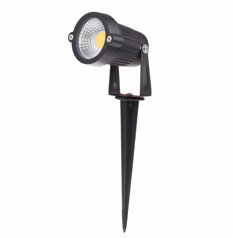 Waterproof COB Garden Lawn 220V 110V 12V Outdoor LED Spike 7W Path Landscape light