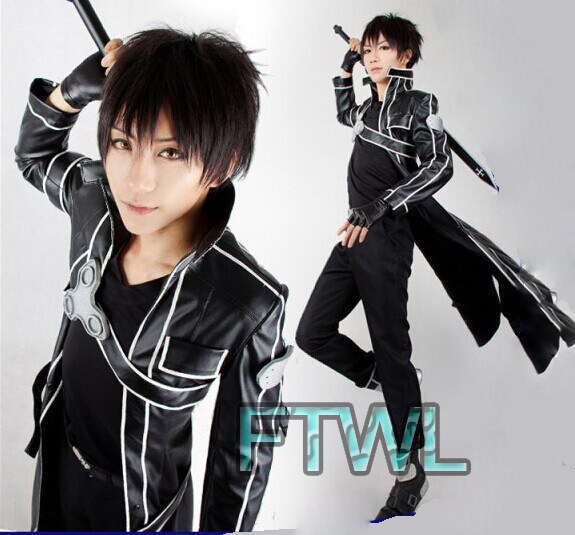Aliexpress.com : Buy [FTWL] Anime Sword Art Online Kirito ...