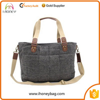 Multi and traveling woollen cloth tote diaper bags mummy baby bag