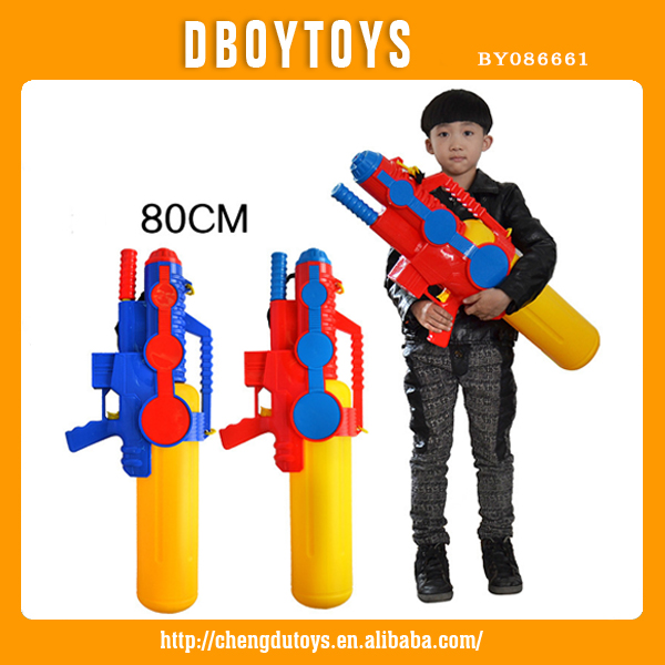 plastic toy big water gun with tank