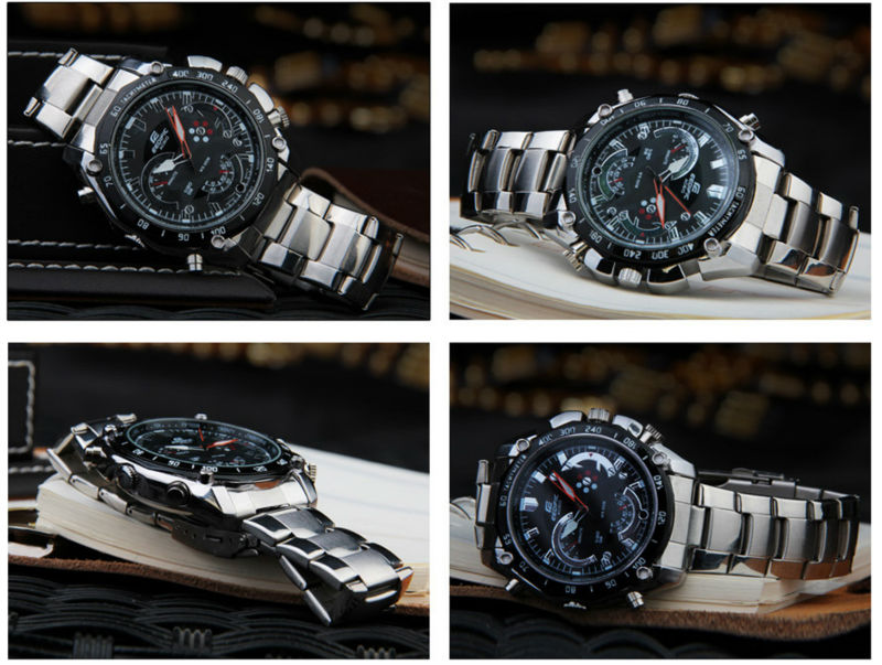 New Style 1280*720 8GB Waterproof Hd Watch Camera DVR