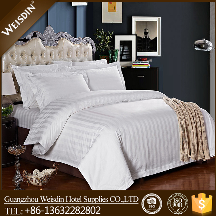 Guangzhou manufacturer polyester/cotton bed linen packaging bedding set