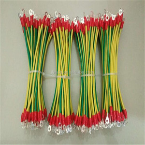 Supply green and yellow pvc insulated solar grounding cable
