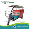 Battery powered 3 wheel trike passenger tuk tuk taxi e trike