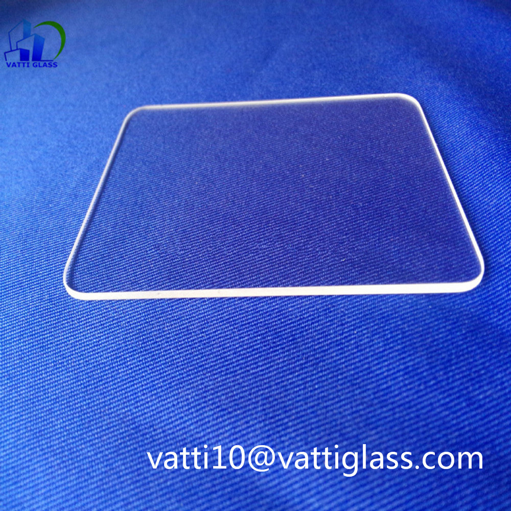 Heat Resistant Fused Silica Quartz Glass Plate For Furnace Sight Glass