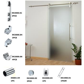Stainless Steel Wall Mount Hanging Wheel Glass Door Shower Door Sliding  Roller Hardware