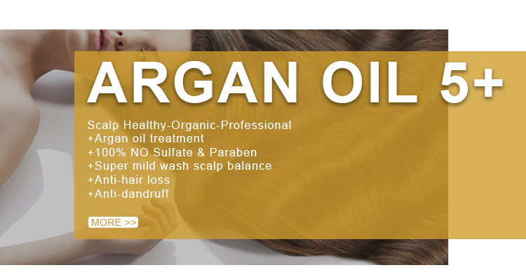 Private Label Authentic Hair Argan Oil Easy Application Acrylic Bottle with Spray Head