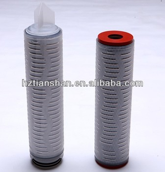 High Flow Micron Activated Carbon (acf) Filter Element For Water ...