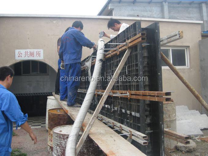 Alibaba Express Baru Produk Melemparkan-in-situ Beton Porus Dinding Membuat Mesin - Buy Letakkan ...