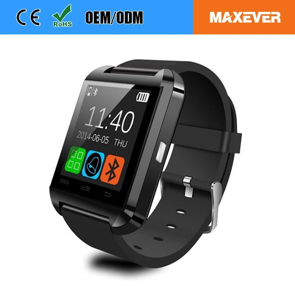 Touch Screen MTK6261 Support Alarm Clock Bluetooth Smart Watch U8
