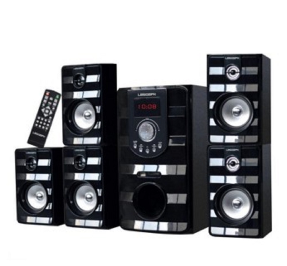5.1 menara home theater speaker dengan USB SD FM BT REMOTE penjualan panas di pasar India