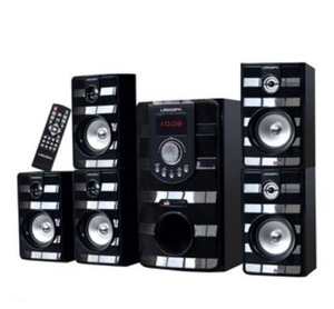 5.1 tower home theater speaker with USB SD FM BT REMOTE hot sale in Indian market