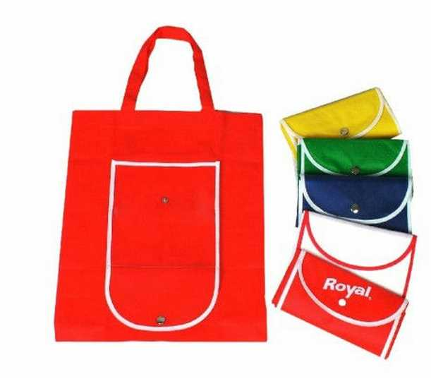 2017 EUROPE market standard folding shopping bag qq doll bag in bag