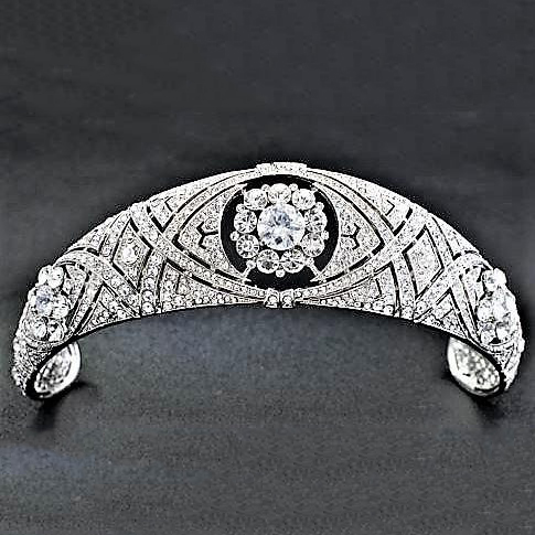 England Inspired Silver Headband Markle Silver Rhinestone Tiaras Meghan Markle Inspired <strong>Crown</strong>