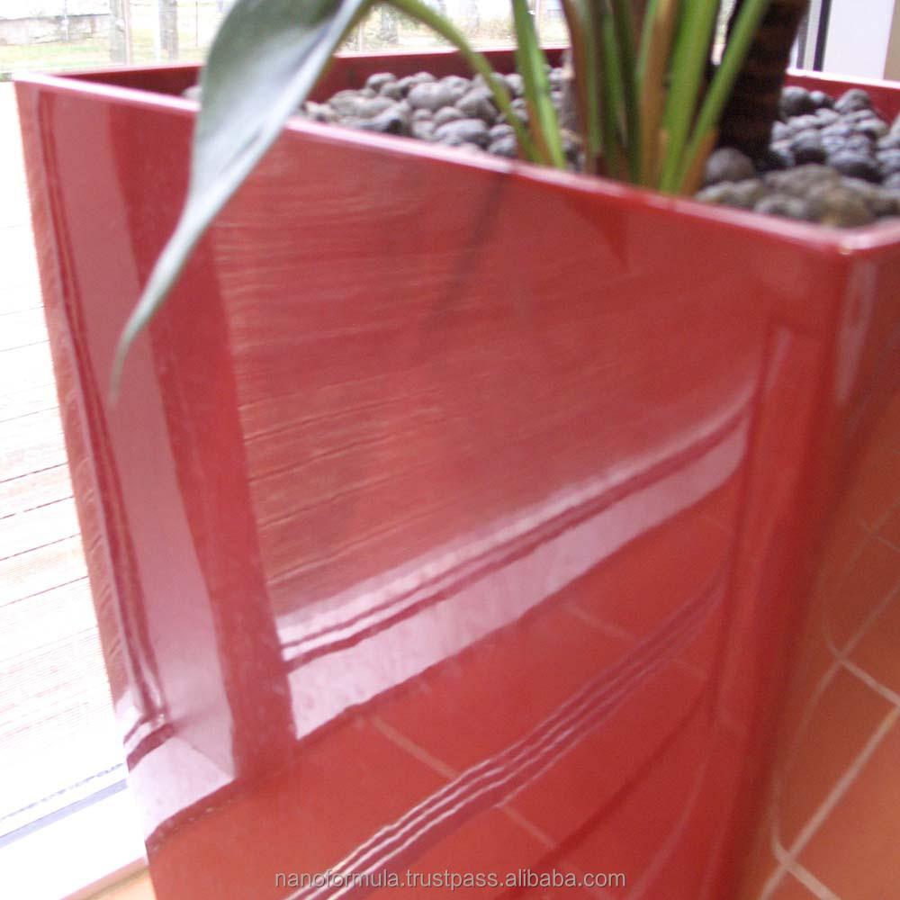 Super hydrophobe auto nettoyage nano revêtement pour le verre peinture en plastique bois